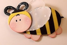 (AB)  Cards ~ BEE / BEE careful, BEE happy, BEE all you can BEE, & remember the love from Granny Picky !