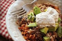 Dairy Free Inspiration / I feel better on a dairy free diet than on a reduced dairy diet. Most of these recipes are GF or can be made with easy GF substitutions.  Feel free to check out my clean eating, Paleo and GF boards. / by Margaret Norman
