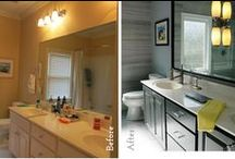 Before & After / Who doesn't love a great Before & After? #homedesign #renovation
