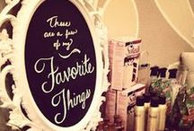 Pinterest/Favorite Things Party / gift and project ideas for a Pinterest Party or Favorite Things Party