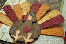 (AH) Cards ~ Turkey / Gobble till you Wobble !  :) :)