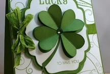 (AH) Cards ~ St. Patty's / Lucky me, Lucky you ~ Friends forever thankfully !