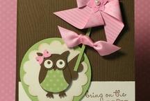 (AA) Cards Owl / by Glenda Jae