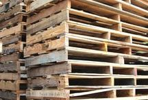 "PALLETS / ""To dwellers in a wood, almost every species of tree has its voice as well as its feature.""  ― Thomas Hardy, Under the Greenwood Tree"