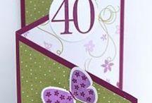 (AL) Cards ~ Shaped / by Glenda Jae