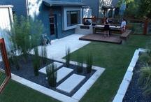 Backyard Entertaining Ideas / Alfresco, entertaining, decking, small backyard ideas
