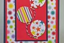 (ABD)  Cards ~  Balloons / by Glenda Jae