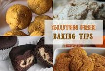 G Free Flours & Baking Tips  / Flour blends, tips & substitutions - Always check all the labels to be sure they are GF.  Feel free to check out my other GF boards. / by Margaret Norman