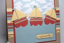 (ABD) Cards ~ Sailboat / by Glenda Jae