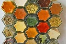 Herbs, Spices, Condiments & Dressings / A sage person once said to use healing herbs.  Spice up your life a little. / by Margaret Norman