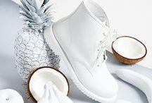 Forever White / Los inmaculados de nuestro armario están aquí! Conseguilos en #Fotter
