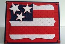 (AH) Cards ~ USA / Thanks for your service to our country & praying for your safe return.