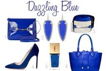 Dazzling Blue  / These blues will be sure to dazzle any part of your home