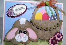 (AH) Cards ~ Easter BUNNY