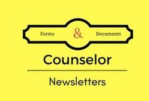 Newsletters / Newsletters are a great way to communicate with parents. Send newsletters home weekly, bi-weekly, or monthly. Parents love to be informed on how to help their children!