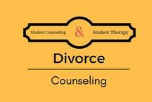 Divorce Counseling for students / Counseling students who's parents are going thru a divorce or have already divorced.