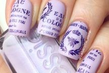 Nailed It / I'm obsessed with nail polish, nail art, nail designs, etc.  / by Sally Mercedes
