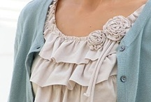 Up-cycled Clothing / Why buy new, when you can remodel the old.