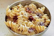 Recipes: Mac & Cheese / All sorts of macaroni & cheese recipes. YUM! / by Sally Mercedes