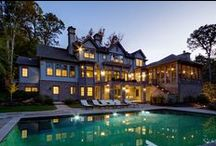 Outdoor Entertaining:Porches, Patios and Pools / Outdoor entertaining is no longer limited to warm sunny days ... expand your living and entertaining experience with creative designs for Porches, Patios and Pools.