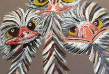 Kleurrijk schilderen / Schilderen met acrylverf