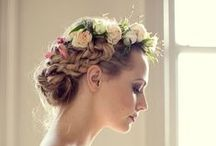 Wedding wedding hair by Lovehair / Wedding hair styles created by the talented stylists at Lovehair.co.uk