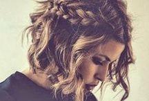 short wedding hair / Wedding hair ideas for short hair