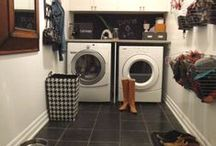 Mudroom & Laundry Room / by Julie Loves Home