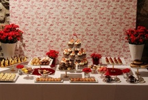 Sweet & cake buffet and candy bars / Martina´s sweet & cake buffet and candy bars
