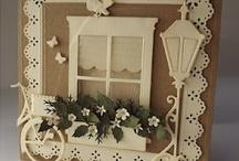 Window cards / by Swannie Wimett