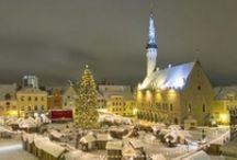 Maria's Estonia / Home country.