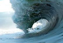 painting a wave