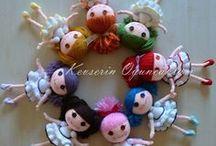 crochet dolls / by Valerie Bowen