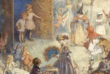 Fairy Tale Illustration / Illustrations of fairy tales through the years and areas