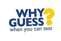 """#WhyGuess campaign / The """"Why Guess … when you can test?"""" campaign wants to stop healthcare professionals having to guess whether a pregnant woman is carrying the potentially harmful group B Strep bacteria. It wants them to have easy access to the gold standard ECM test, a test specifically designed to detect GBS carriage. Join us! www.gbss.org.uk/why-gues"""