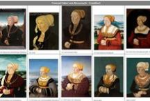 Visual Workshop: 1530s German Renaissance / This board is used specifically to keep all the working-progress research in place for specific object recreation. In this case the 1530s (including leeway) of the German renaissance.