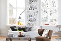 living & rooms / by Megan Novy