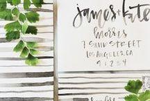 wedding details / by Audrey Woollen | Urbanic Paper