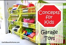 Organized Garages / by Laura (Organizing Junkie)