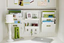 Organized Offices / Organized office ideas and inspiration / by Laura (Organizing Junkie)