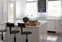 white & kitchens / by Megan Novy