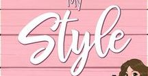 My Style / Styles and fashion I love! Tips, tricks, and hacks too!