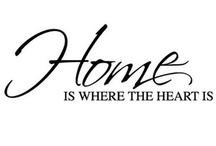 Home is where the heart is. / It helps when it looks good!!!! / by Alex Woolard