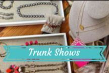 Stella & Dot | Trunk Shows / Take a peek inside of a Stella & Dot trunk show! Friends, shopping, drinks, fashion, treats, styling and fun! Use #SDTrunkShow on Facebook, Twitter, and Instagram to be featured!  / by Stella & Dot