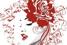 RED my mind / by Heather Osborn