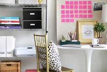 Gorgeous Home Office / home office decor for entrepreneurs