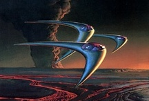 Futurama Scapes / Science/Speculative Fiction/Future Technology/Imagery Poetics/Scenes