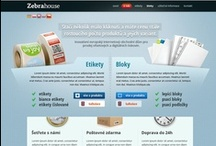 Webstránky od nás / Webstránky, ktoré sme navrhli pre našich klientov