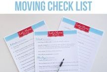 Organized Move / Moving doesn't have to be completely stressful. / by Laura (Organizing Junkie)