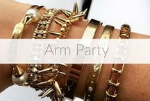 Arm Party / Show us your #SDarmparty or #SDringstack via Facebook, Twitter, and Instagram to be featured!